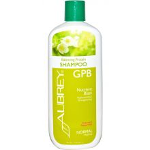 Aubrey GPB Balancing Protein Shampoo, Rosemary Peppermint - Normal, 11oz (325ml)