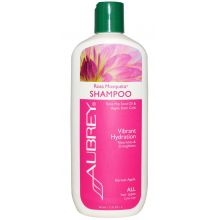 Aubrey Rosa Mosqueta Shampoo, Vibrant Hydration, All Hair Types, 11 fl oz (325 ml)