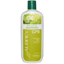 Aubrey GPB Balancing Protein Shampoo, Classic Scent - Normal, 11oz (325ml)