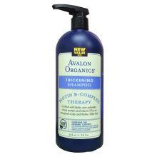 Avalon Organics, Thickening Shampoo, Biotin B-Complex Therapy, 32 oz