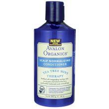 Avalon Organics, 茶樹薄荷護髮素, 14 fl oz (397 g)