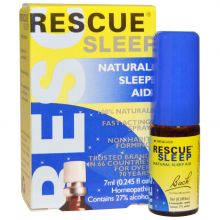 Bach Original Flower Remedies, Rescue Sleep, Natural Sleep Aid, 7ml - Spray