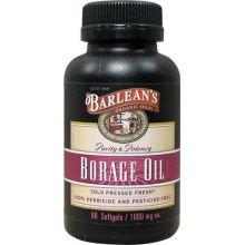 Barlean's 巴宁 琉璃苣油胶囊, 1000 mg, 60粒