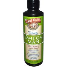 Barlean's, Omega Man, 12 fl oz (350 ml)