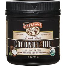 Barlean's Virgin Coconut Oil 473ml (16oz)