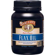 Barlean's 木酚素亞麻籽膠囊 1000mg 100粒