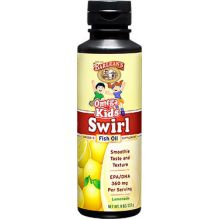 Barlean's, Omega Kid's Swirl, Fish Oil, Lemonade, 8 oz (227 g)