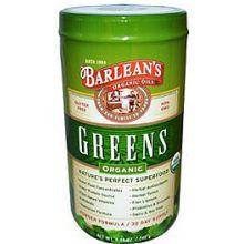 Barlean's 巴宁 绿粉, 原味, 8.46 oz (240 g)