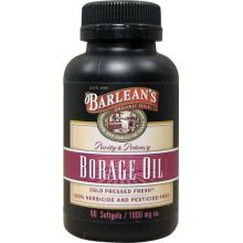 Barlean's, Borage Oil, 1000 mg, 60 Softgels