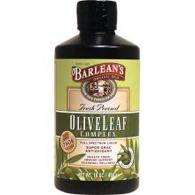 Barlean's 橄欖葉精華, 原味 16 oz (454 g)