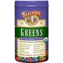 Barlean's 巴宁 绿粉, 天然浆果味, 8.78 oz (249 g)