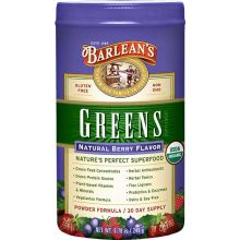 Barlean's Greens, Natural Berry Flavor, 8.78 oz (249 g)