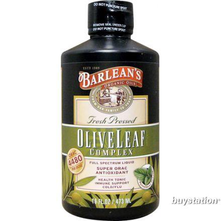 Barlean's 橄欖葉精華, 薄荷味 16 oz (454 g)