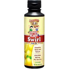 Barlean's 巴宁 Omega Kid's Swirl 鱼油,柠檬汽水味, 8 oz (227 g)