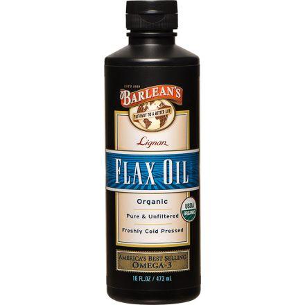Barlean's 有機木酚素亞麻籽油 16 fl oz (473 ml)