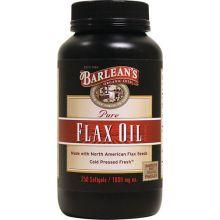 Barlean's 巴宁 纯亚麻籽油胶囊, 1,000mg, 250粒