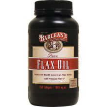 Barlean's 純亞麻籽油膠囊, 1,000mg, 250粒