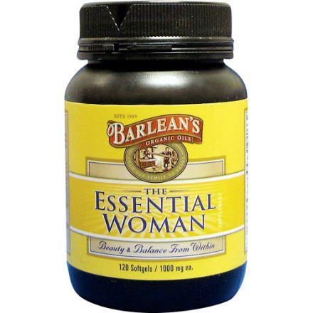 Barlean's, The Essential Woman 女士配方油膠囊, 1000 mg, 120 粒