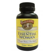Barlean's, The Essential Woman, 1000 mg, 60 Softgels