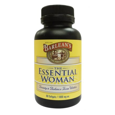 Barlean's, The Essential Woman 女士配方油膠囊, 1000 mg, 60 粒