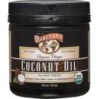 Barlean's 有機冷壓初榨椰子油 473ml (16oz)