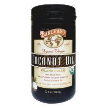 Barlean's 巴宁 有机冷压初榨椰子油 946ml (32oz)