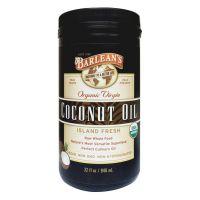 Barlean's Virgin Cold Pressed Coconut Oil 946ml (32oz)