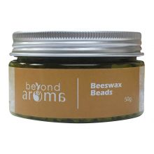 Beyond Aroma, Beeswax Beads - natural, 50g