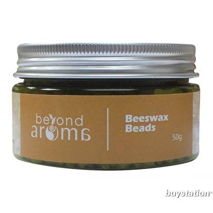 Beyond Aroma, Beeswax Beads - natural, 50g