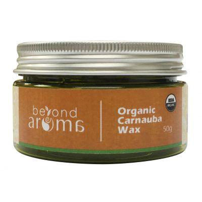 Beyond Aroma, Organic Carnauba Wax, 50g