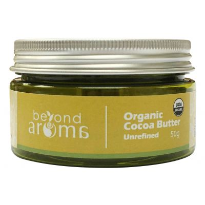 Beyond Aroma, Organic Cocoa Butter (unrefined), 50g