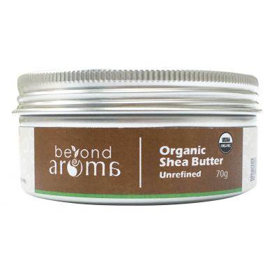 Beyond Aroma, Organic Shea Butter (unrefined), 70g