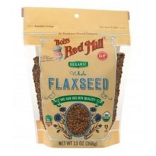 Bob's Red Mill, Organic Flaxseeds, 13oz