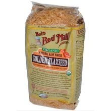 Bob's Red Mill Organic Golden Flaxseed, 24 oz