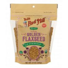 Bob's Red Mill, Organic Golden Flaxseeds, 13oz