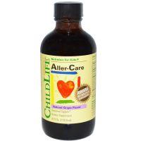 ChildLife, Aller-Care, 天然葡萄味營養素 4 Fl.Oz. (118.5ml)
