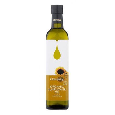 Clearspring, 有機冷壓葵花籽油, 500ml