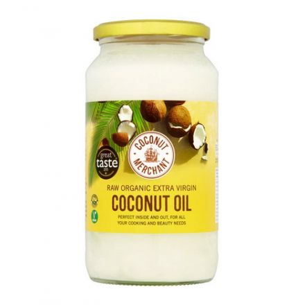 Coconut Merchant, Organic Extra Virgin Coconut Oil, 1000ml