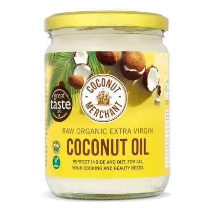 Coconut Merchant, Organic Extra Virgin Coconut Oil, 500ml