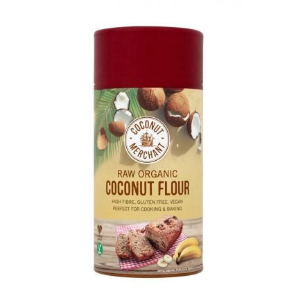 Coconut Merchant, Organic Coconut Flour, 500g