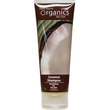 Desert Essence, 椰子洗髮水 - 乾燥髮質, 8 fl oz (237 ml)