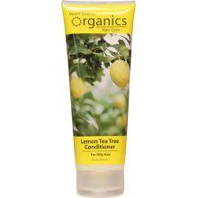 Desert Essence, 檸檬茶樹護髮素 -油性髮質, 8 fl oz (237 ml)