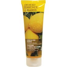 Desert Essence, 檸檬茶樹洗髮水 -油性髮質, 8 fl oz (237 ml)
