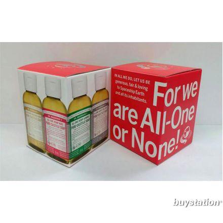 Dr. Bronner's, 2 oz 紅色禮盒