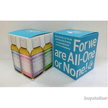 Dr. Bronner's, 2 oz 粉藍禮盒
