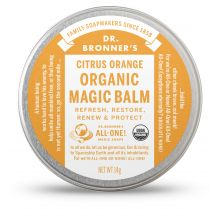 Dr. Bronner's, Organic Citrus Orange Body Balm, 14g