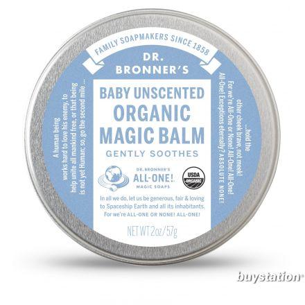 Dr. Bronner's, Organic Baby Mild Body Balm, 14g