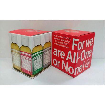 Dr. Bronner's, 2 oz. 紅色禮盒