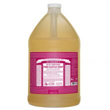Dr. Bronner's, 玫瑰洁颜液 - 1加仑