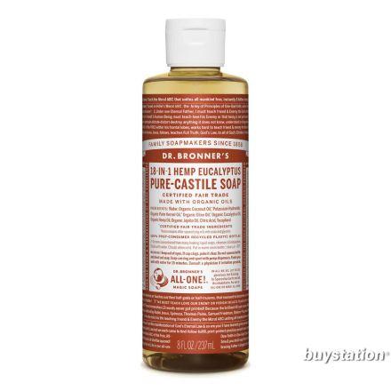 Dr. Bronner's, Eucalyptus Liquid Soap - 8 oz.